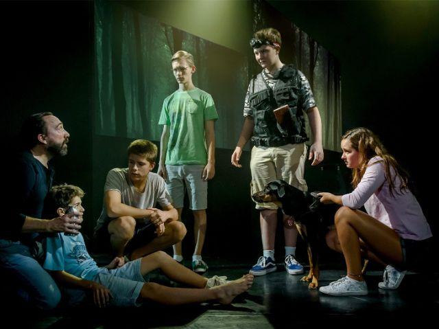 "Szene aus ""TKKG"", Foto: Junges Theater Bonn"