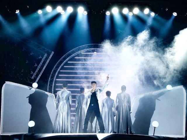 "Szene aus ""The Band"", Foto: Eventpress"