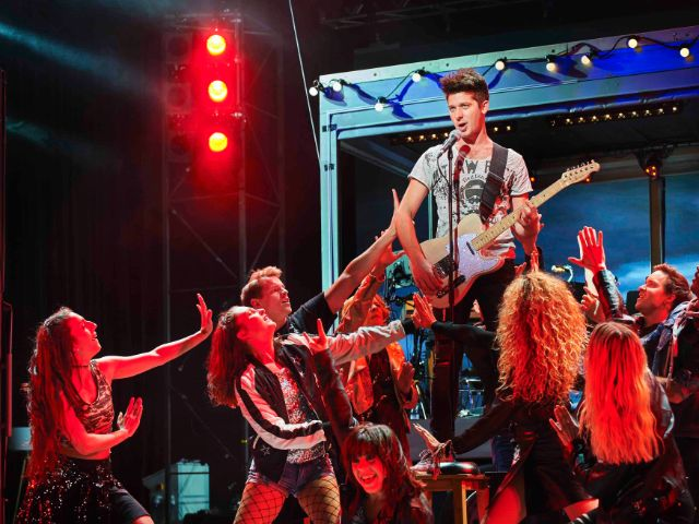 """Szene aus dem Musical """"Wahnsinn"""", Foto: Hardy Müller"""
