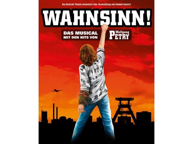 """Plakat zu """"Wahnsinn - Das Musical"""", Foto: Deutsches Theater"""