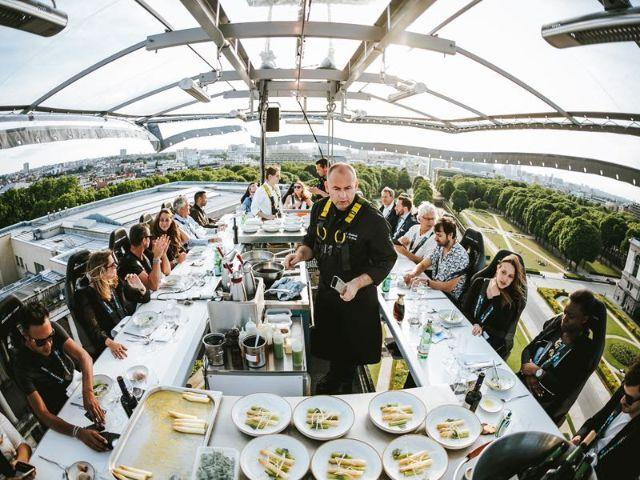 Dinner in the Sky, Foto: Dinner in the Sky