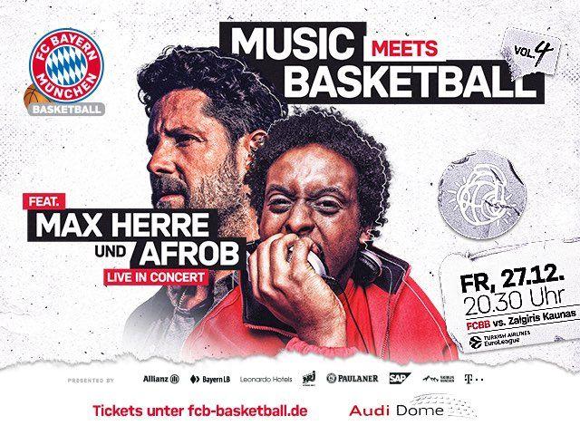 Music meets Basketball, Foto: FC Bayern Basketball