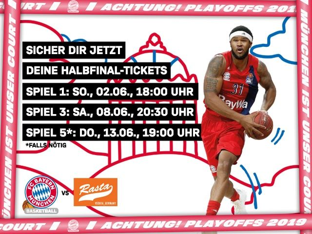 Playoffs FC Bayern Basketball, Foto: FC Bayern Basketball