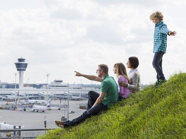 Flughafen, Besucherhuegel