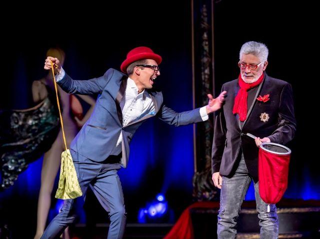 """Anton & Viktor Franke aus der Show """"Fashion"""" im GOP Varieté, Foto: GOP Varieté"""