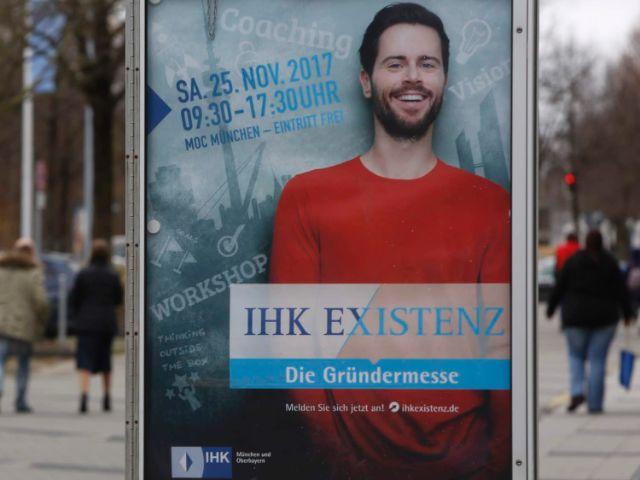 Plakat zur IHK Existenz Messe, Foto: IHK