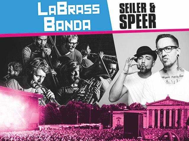 LaBrassBanda + Seiler und Speer, Foto: Global Concerts