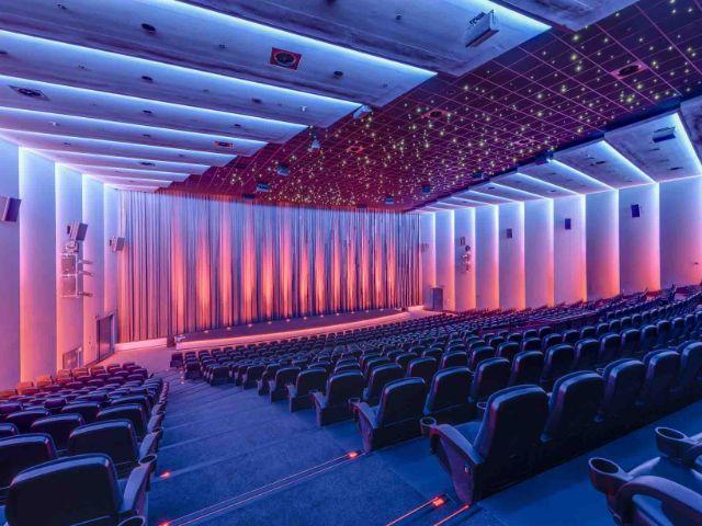 Kinosaal im Mathäser, Foto: Mathäser
