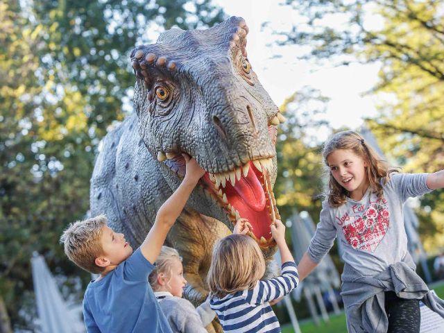 Kindererlebniswelt Dinosaurier, Foto: The Munich Show