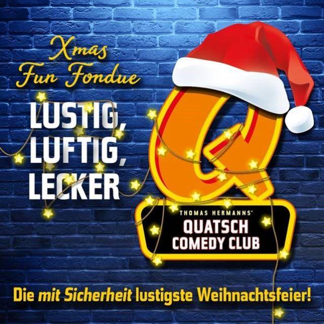 Weihnachtsfeier im Quatsch Comedy Club, Foto: Quatsch Comedy Club