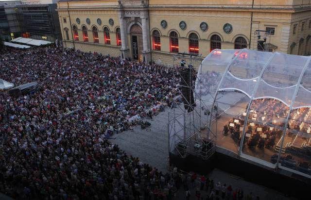 Oper für alle, Bayerische Staatsoper, Opernfestspiele, Foto: Wilfried Hösl