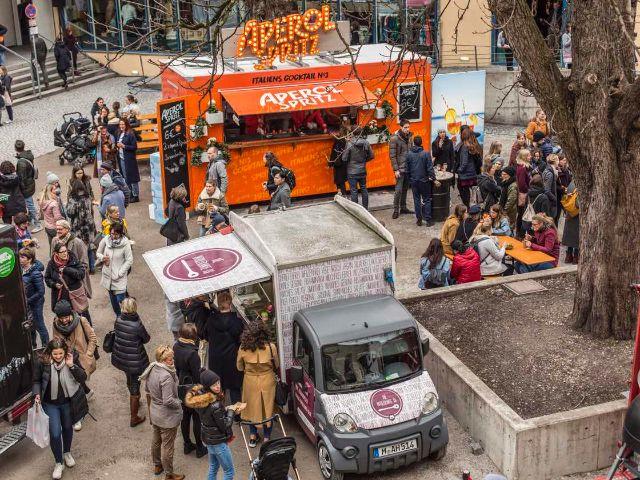 Streetfoodmeile beim Stijlmarkt, Foto: Tim Dechent