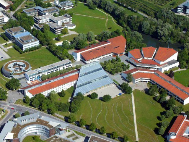 Luftbildaufnahme vom Zentralbereich des Campus Weihenstephan, Foto: Ernst A. Graf
