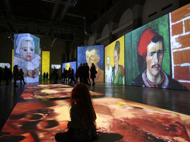 Die multimediale Van Gogh Alive Ausstellung 2021 im Utopia, Foto: Grande Exhibitions