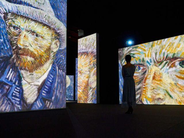 Die multimediale Van Gogh Alive Ausstellung 2021 im Utopia, Foto: MAAG