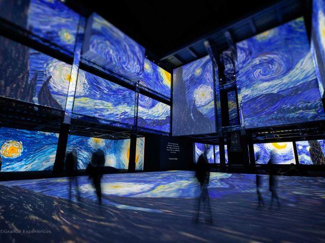 Die multimediale Van Gogh Alive Ausstellung 2021 im Utopia, Foto: Grande Experiences