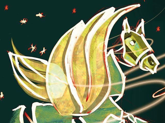 Pegasus, Foto: Werksviertel Mitte