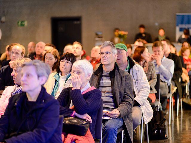 Vortrag auf der Münchner Immobilienmesse, Foto: Münchner Immobilien Messe