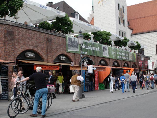 Presserundgang: 700 Jahre Metzgerzeile auf dem Viktualienmarkt, Foto: Katy Spichal