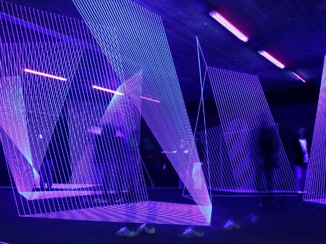 Installation im MaximiliansForum, Foto: Immanuel Rahman