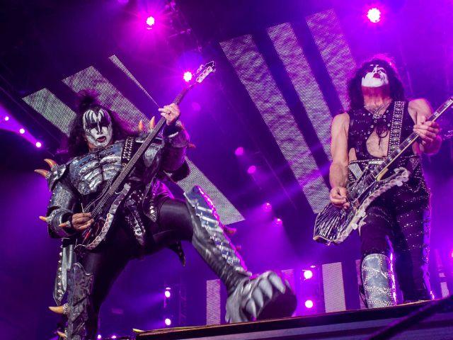 Kiss auf der Bühne im Olympiastadion, Foto: Immanuel Rahman