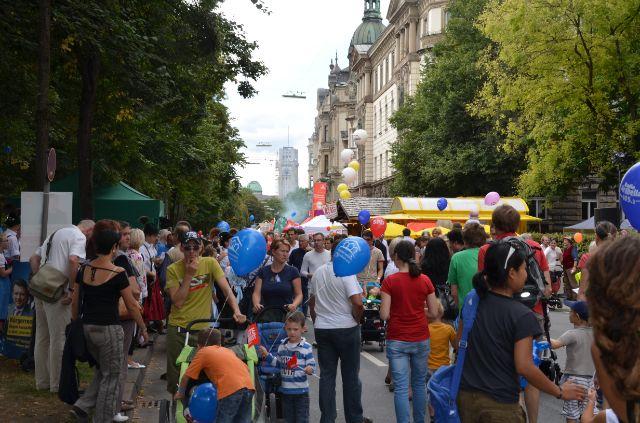Das Isarinselfest in München 2013, Foto: Benedikt Feiten