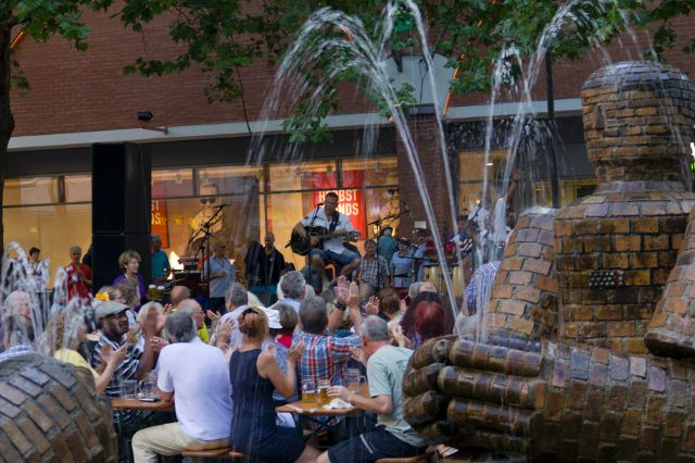 Bluesfest auf dem Rotkreuzplatz, Foto: Katy Spichal