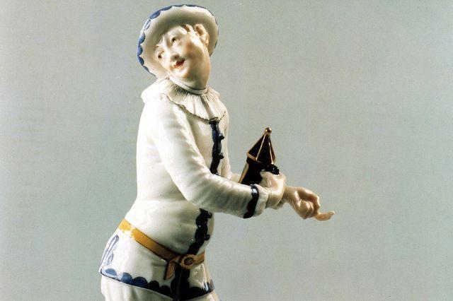 Preisverleihung Pierrot auf dem Bayerischen Filmpreis, Foto: BR/Porzellanmanufaktur Nymphenburg