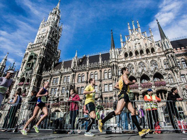 Impressionen vom München Marathon. , Foto: München Marathon