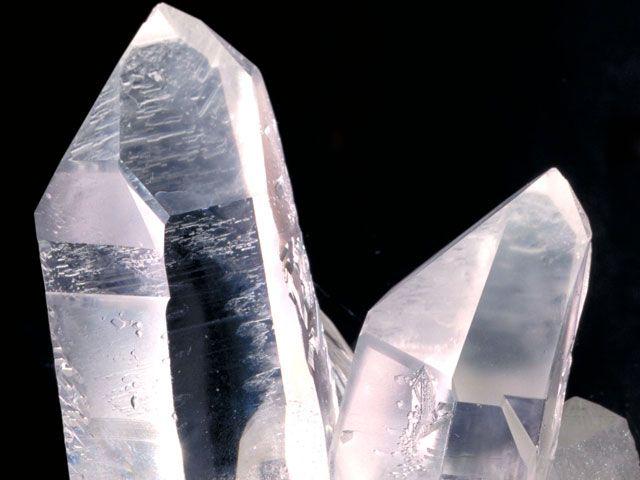 Bergkristall, Foto: Museum Reich der Kristalle / Rainer Viertlböck