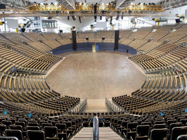 Olympiahalle im Olympiapark München, Foto: Olympiapark München