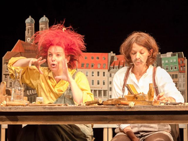 Lesung von Pumuckl im Residenztheater München, Foto: Judith Buss