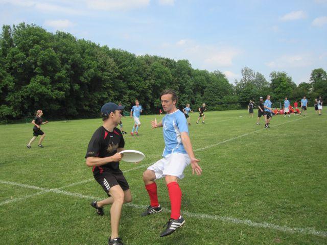 Die Deutsche Meisterschaft Mixed im Ultimate Frisbee findet in München statt. , Foto: ESV München e.V.