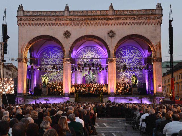 Münchner Philharmoniker Klassik am Odeonsplatz, Foto: Münchner Philharmoniker/ Michael Malfer