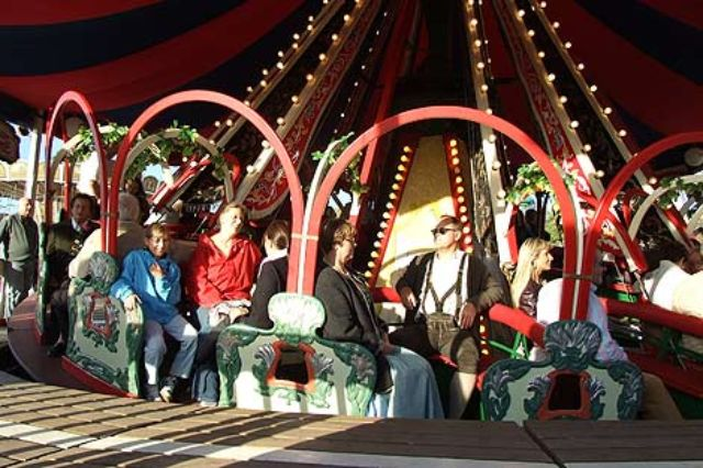 Karusell auf dem Oktoberfest