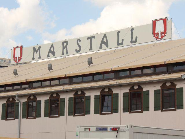 Das Marstall Zelt auf dem Oktoberfest in München ersetzte das Hippodrom., Foto: Immanuel Rahman