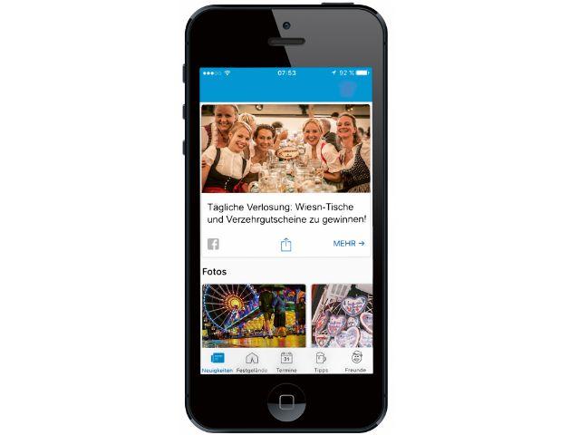 Oktoberfest-App - Handy