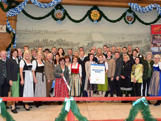 Auszeichnung der Wiesnwirte mit Umweltprädikat 2017, Foto: DEHOGA Bayern e.V.
