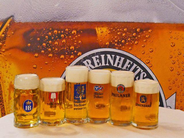 Oktoberfestbierprobe 2018: Die Biere der sechs Münchner Großbrauereien, Foto: muenchen.de/Leonie Liebich