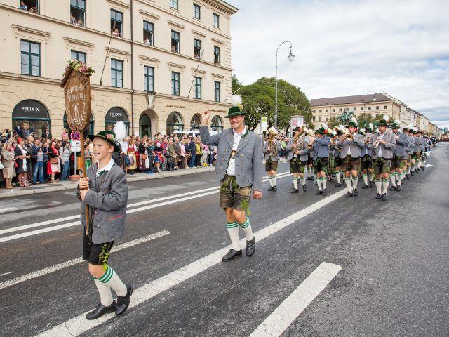 Trachten- und Schützenzug 2018, Foto: muenchen.de / Mónica Garduño 2018