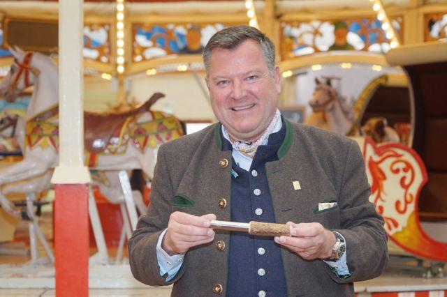 Wiesn-Chef Josef Schmid., Foto: muenchen.de/ Dan Vauelle 2018
