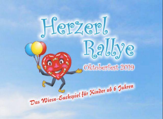 Herzerl Rallye Spielplan für Kinder am Wiesn-Familientag 2019, Foto: muenchen.de