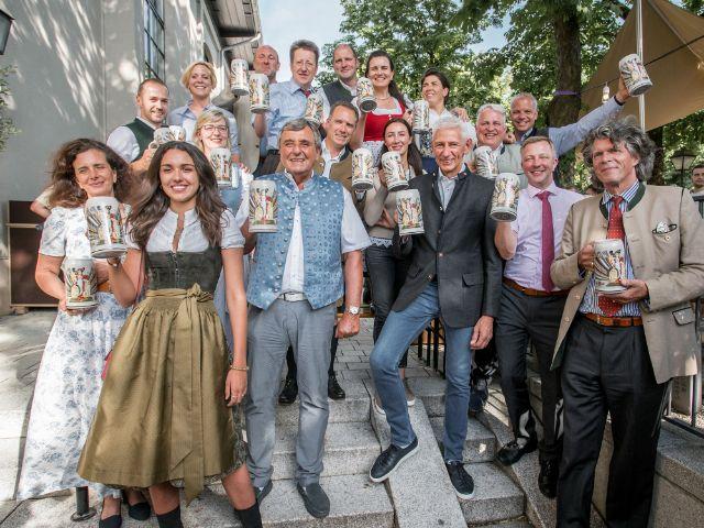 Vorstellung des Wirtekrugs 2019 - die Wirte der großen Festzelte, Foto: muenchen.de / Mónica Garduño