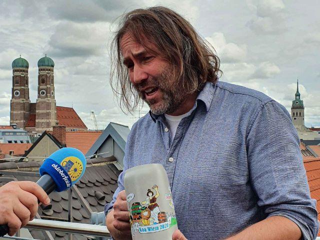 Liedermacher und Münchner Stadtrat Roland Hefter, Foto: muenchen.de/Saskia Ziegler