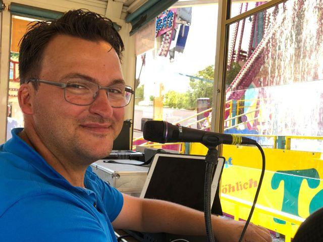 Peter Bausch, kommissarischer Vorsitzender des Veranstaltungsgesellschaft der Münchner Schausteller GmbH , Foto: Peter Bausch