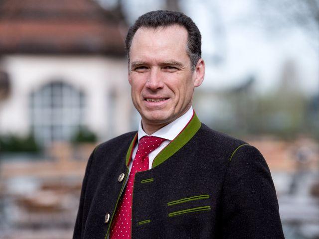 Der Sprecher der Wiesnwirte Peter Inselkammer, Foto: Sven Hoppe/dpa/Archivbild