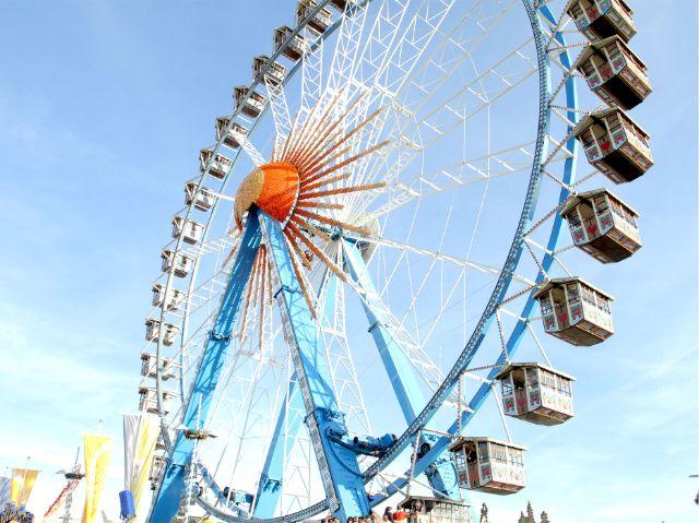Das Riesenrad auf der Wiesn, Foto: David-Pierce Brill