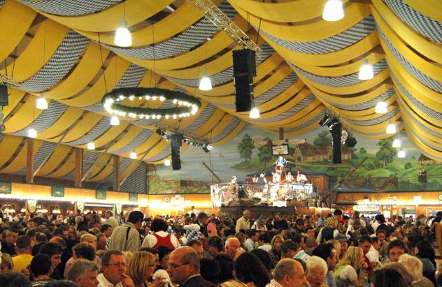 If you feel like s&ling something other than the traditional roast chicken pretzels and other standard fare the highly traditional tent of Fischer-Vroni ... & Oktoberfest Beer tents