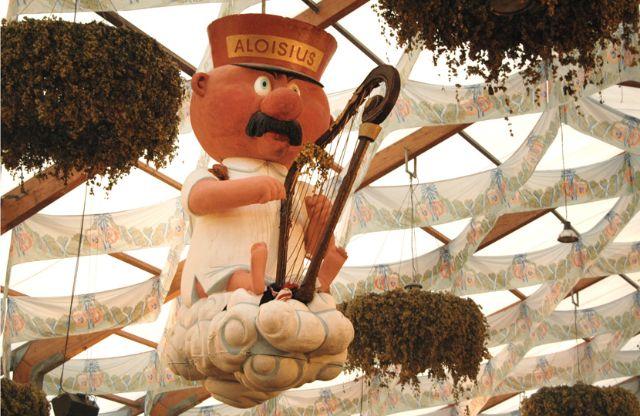 Das Hofbräuzelt auf dem Oktoberfest, Foto: Leonie Liebich