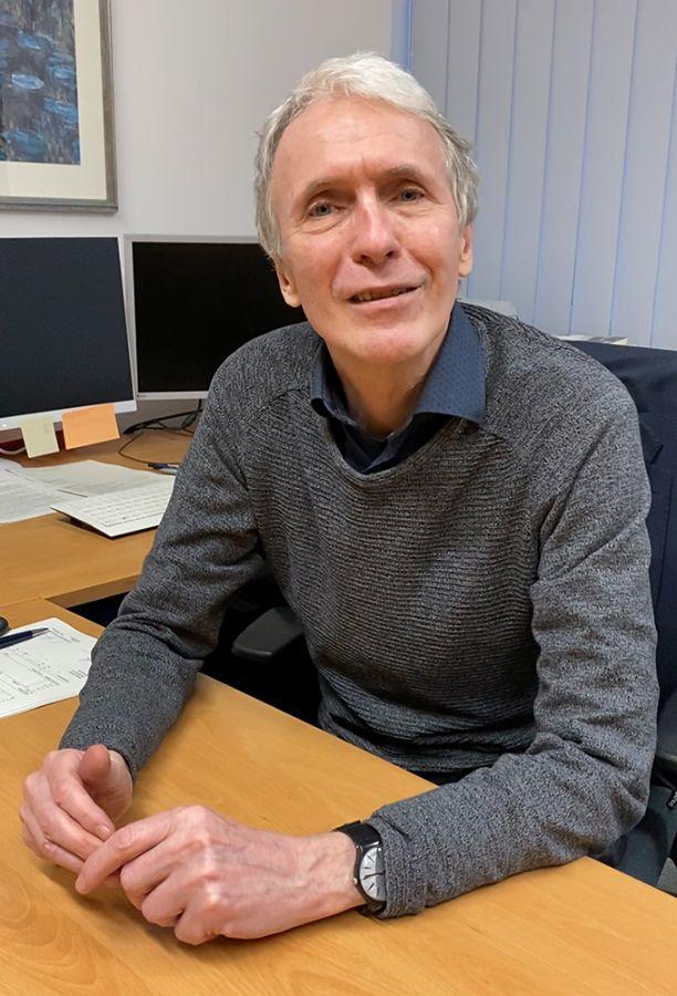 Eberhard Pflaum, Schulleiter des Städtischen Abendgymnasiums